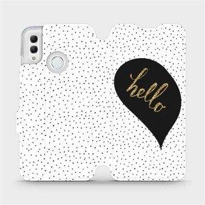 Flipové pouzdro Mobiwear na mobil Honor 10 Lite - M013P Golden hello