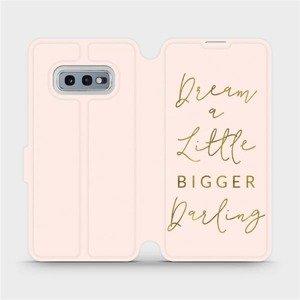 Flipové pouzdro Mobiwear na mobil Samsung Galaxy S10e - M014S Dream a little