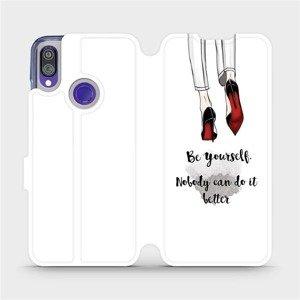 Flipové pouzdro Mobiwear na mobil Xiaomi Redmi Note 7 - M046P Be yourself