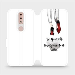 Flipové pouzdro Mobiwear na mobil Nokia 4.2 - M046P Be yourself