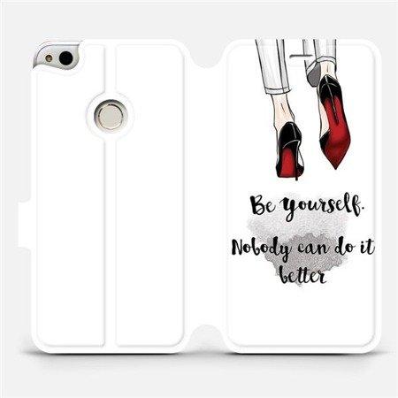 Flipové pouzdro Mobiwear na mobil Huawei P9 Lite 2017 - M046P Be yourself