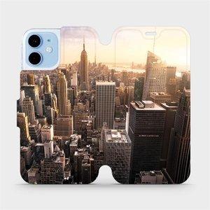 Flipové pouzdro Mobiwear na mobil Apple iPhone 12 mini - M138P New York