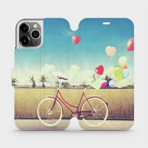 Flipové pouzdro Mobiwear na mobil Apple iPhone 12 Pro - M133P Kolo a balónky