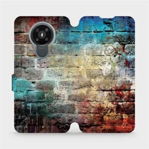 Flipové pouzdro Mobiwear na mobil Nokia 3.4 - V061P Zeď