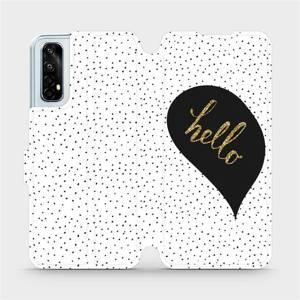 Flipové pouzdro Mobiwear na mobil Realme 7 - M013P Golden hello