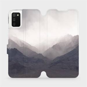 Flipové pouzdro Mobiwear na mobil Samsung Galaxy A02s - M151P Hory