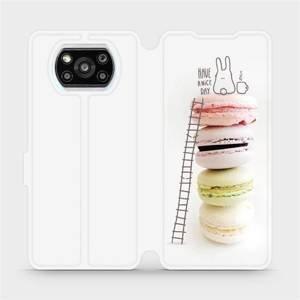 Flipové pouzdro Mobiwear na mobil Xiaomi Poco X3 Pro - M090P Makronky - have a nice day