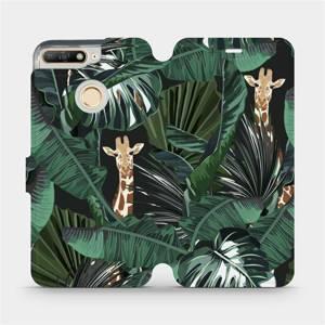 Flip pouzdro Mobiwear na mobil Huawei Y6 Prime 2018 - VP06P Žirafky