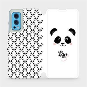 Flip pouzdro Mobiwear na mobil OnePlus Nord 2 5G - M030P Panda Amálka
