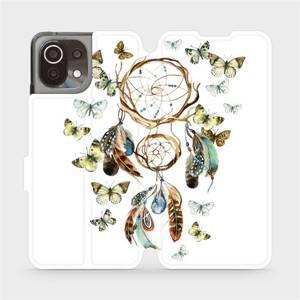 Flip pouzdro Mobiwear na mobil Xiaomi 11 Lite 5G NE - M001P Lapač a motýlci