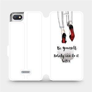 Flipové pouzdro Mobiwear na mobil Xiaomi Redmi 6A - M046P Be yourself