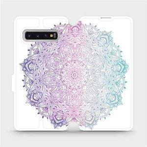 Flipové pouzdro Mobiwear na mobil Samsung Galaxy S10 - M008S Mandala