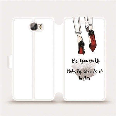 Flipové pouzdro Mobiwear na mobil Huawei Y6 II Compact - M046P Be yourself