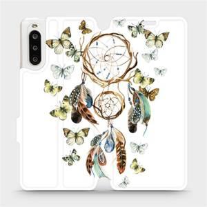 Flipové pouzdro Mobiwear na mobil Sony Xperia 10 II - M001P Lapač a motýlci