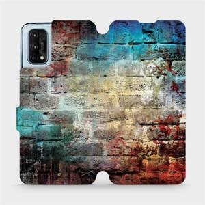 Flipové pouzdro Mobiwear na mobil Realme 7 Pro - V061P Zeď