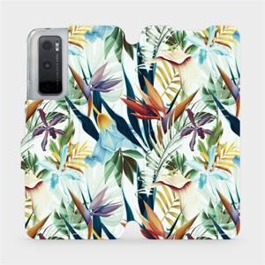 Flipové pouzdro Mobiwear na mobil Vivo Y70 - M071P Flóra