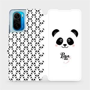 Flipové pouzdro Mobiwear na mobil Xiaomi Mi 11i / Xiaomi Poco F3 - M030P Panda Amálka