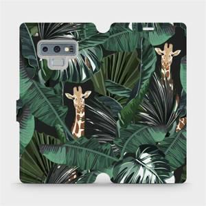 Flip pouzdro Mobiwear na mobil Samsung Galaxy Note 9 - VP06P Žirafky