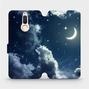 Flipové pouzdro Mobiwear na mobil Huawei Mate 10 Lite - V145P Noční obloha s měsícem
