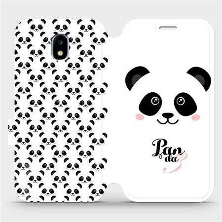Flipové pouzdro Mobiwear na mobil Samsung Galaxy J3 2017 - M030P Panda Amálka