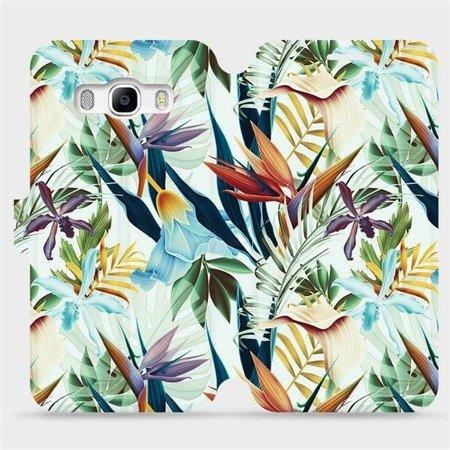 Flipové pouzdro Mobiwear na mobil Samsung Galaxy J5 2016 - M071P Flóra