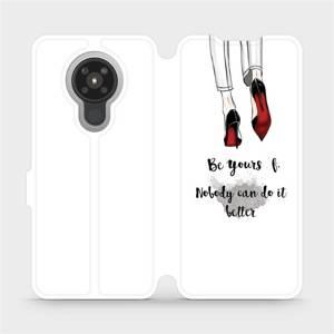 Flipové pouzdro Mobiwear na mobil Nokia 5.3 - M046P Be yourself