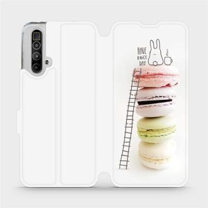 Flipové pouzdro Mobiwear na mobil Realme X3 SuperZoom - M090P Makronky - have a nice day