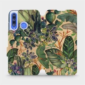Flip pouzdro Mobiwear na mobil Honor 20 Lite - VP05S Sukulenty