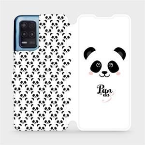 Flip pouzdro Mobiwear na mobil Realme 8 5G - M030P Panda Amálka