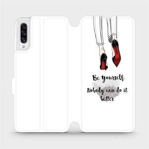 Flipové pouzdro Mobiwear na mobil Samsung Galaxy A30s - M046P Be yourself