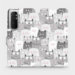 Flipové pouzdro Mobiwear na mobil Xiaomi Mi Note 10 Lite - M099P Kočičky