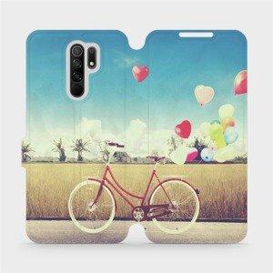 Flipové pouzdro Mobiwear na mobil Xiaomi Redmi 9 - M133P Kolo a balónky
