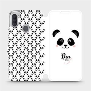 Flipové pouzdro Mobiwear na mobil Samsung Galaxy M11 - M030P Panda Amálka