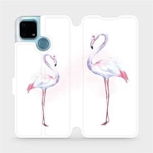 Flip pouzdro Mobiwear na mobil Realme 7i - M005S Plameňáci