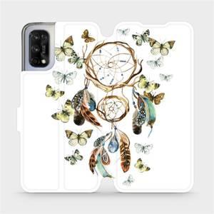 Flipové pouzdro Mobiwear na mobil Realme 7 5G - M001P Lapač a motýlci