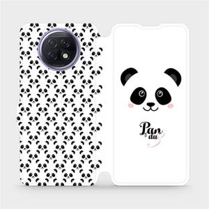 Flipové pouzdro Mobiwear na mobil Xiaomi Redmi Note 9T 5G - M030P Panda Amálka