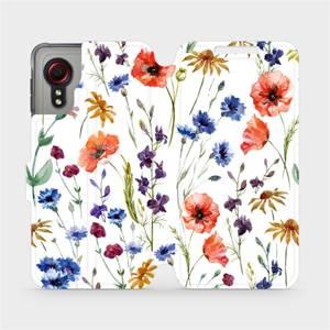 Flip pouzdro Mobiwear na mobil Samsung Galaxy Xcover 5 - MP04S Luční kvítí