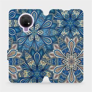 Flip pouzdro Mobiwear na mobil Nokia G10 - V108P Modré mandala květy