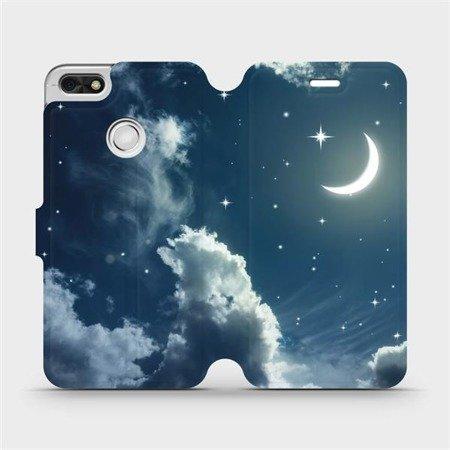 Flipové pouzdro Mobiwear na mobil Huawei P9 Lite mini - V145P Noční obloha s měsícem