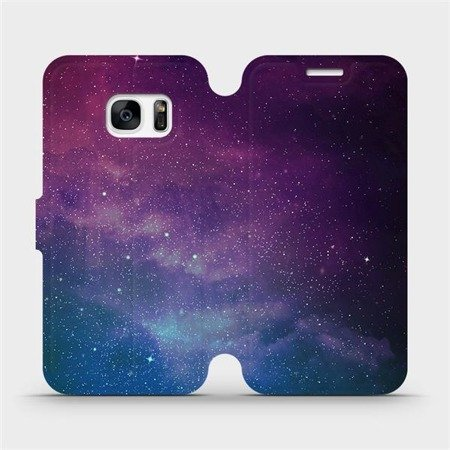 Flipové pouzdro Mobiwear na mobil Samsung Galaxy S7 Edge - V147P Mlhovina