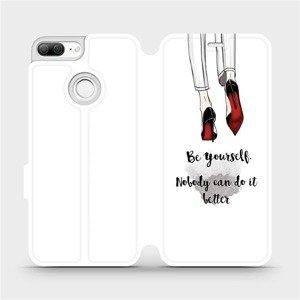 Flipové pouzdro Mobiwear na mobil Honor 9 Lite - M046P Be yourself