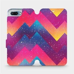 Flipové pouzdro Mobiwear na mobil Honor 10 - V110S Barevné klikyháky