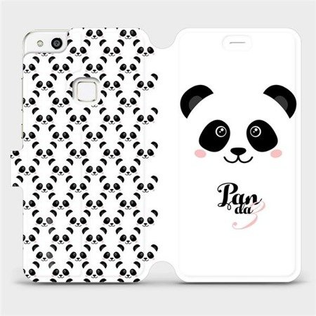 Flipové pouzdro Mobiwear na mobil Huawei P10 Lite - M030P Panda Amálka