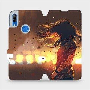Flipové pouzdro Mobiwear na mobil Huawei P Smart Z - MA02S Tetovaná dívka