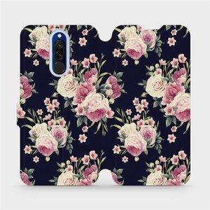 Flipové pouzdro Mobiwear na mobil Xiaomi Redmi 8 - V068P Růžičky