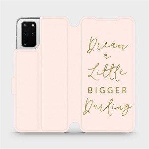 Flipové pouzdro Mobiwear na mobil Samsung Galaxy S20 Plus - M014S Dream a little