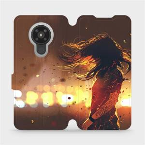 Flipové pouzdro Mobiwear na mobil Nokia 5.3 - MA02S Tetovaná dívka