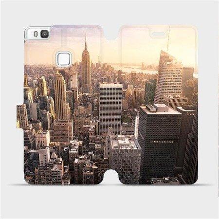 Flipové pouzdro Mobiwear na mobil Huawei P9 Lite - M138P New York