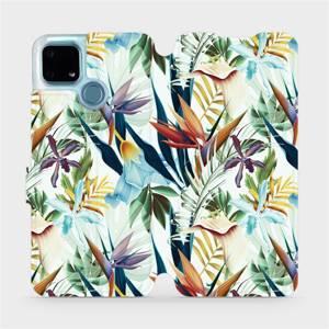 Flip pouzdro Mobiwear na mobil Realme 7i - M071P Flóra