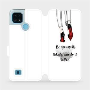 Flip pouzdro Mobiwear na mobil Realme C21 - M046P Be yourself